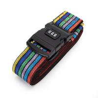 Best Cross Travel Suitcase Strap Safe Belt Strap Luggage Strap Luggage belt wholesale