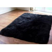 Best Warm Soft Rectangle Real Fur Throw Blanket 6 * 8 Ft For Bed / Sofa Throw wholesale