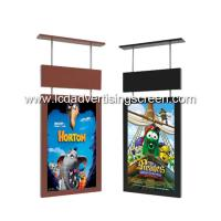 China Indoor TFT Lcd Advertising Screen 43 Inch Ceiling Mount Super Slim Frame on sale