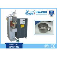 Best CE Standard Capacitor Welding Machine , Cup Handle Stainless Steel Spot Welder wholesale