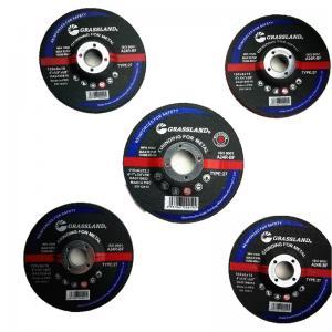 Best 115mm X 6.4mm X 22.23mm Resin Bonded Grit 24 Abrasive Grinder Discs For Metal Fab wholesale