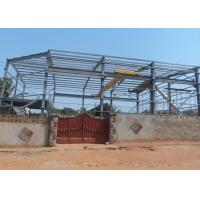 Quality Mining Warehouse Prefabricated Industrial Steel Structures Multispan ASTM Standards wholesale