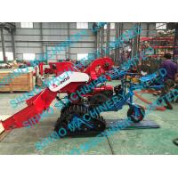 Best 4LZ-0.7 mini paddy combine harvester with crawler, rice wheat 14HP wholesale
