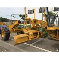 Best Year 2016 Used Motor Grader CAT 140K , Grader Heavy Equipment With Push Block wholesale