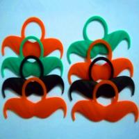 Best custom logo silicone whiskers for party,welcome custom design wholesale
