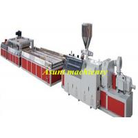Buy cheap Extrusion WPC Plastic Profile Production Line Wood Plastic Door Production Line 800mm Width from wholesalers