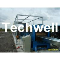Best Electric Cutting 17 Stations 17.7KW Large Span Roof Panel Roll Forming Machine 45# Steel wholesale