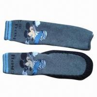 Best Anti-slip Shoe Socks, Made of Cotton, Polyester and Spandex wholesale