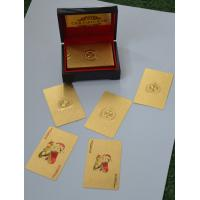 Best PET silver foil 24K Custom Playing Cards Brand logo WITH 2 jokers wholesale