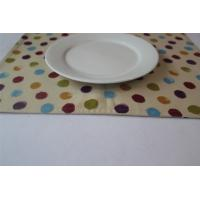 Best Yellow 100% Cotton Little Dot Dining Room Placemats Kitchen Table Mats wholesale