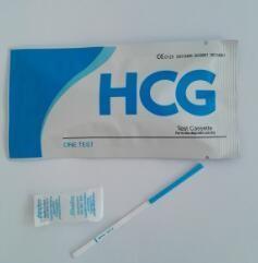 Cheap One Step Pregnancy Kit HCG test strip/HCG test strip/Urine pregnancy test strip/ for sale