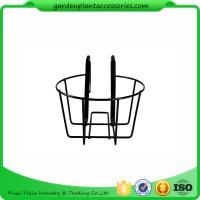 Best Round Metal Wire Balcony Planting Hanging Baskets / Hanging Pots For Plants wholesale