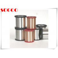China CuNi1 CuNi14 Nickel Alloy Wire , Copper Coated Resistance Wire 0.6mm / 0.8mm Dia on sale