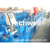 Best CCr 15 High Grade Steel Rolling Shutter Forming Machine For 5-15m/min Forming Speed wholesale