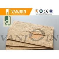 China Flexible Lightweight Clay Wall Tiles Cladding 1.5-6.0mm Thickness Acid Corrosion on sale