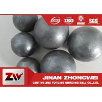 Best HRC 60-68 Hardness Grinding Steel Balls for Mining and Cement Plant Ball Milling wholesale