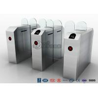 Best Fastlane Turnstile Remote Control Access Control Turnstiles Tempered Glass Sliding wholesale