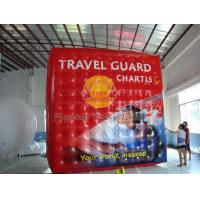 Best Inflatable Cube Balloon with Six Sides Digital Printing , Square Balloons for Parade wholesale