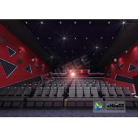 Best 55 Inch Display 60 People 4D Digital Cinema Equipment With Blue Color 4 Motion Seat wholesale