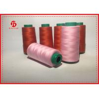 Quality 40/2 Bright Industrial Sewing Machine Thread 3000 Yarn on Plastic Cone wholesale