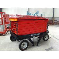 Best 8M Electric Hydraulic Scissor Work Lift Platform With free shipping wholesale