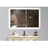 Buy cheap Dimmable Anti Fog LED Illuminated Bathroom Mirror With Demister 600 X 900mm Size from wholesalers