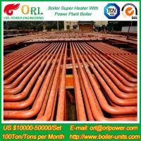 Best ORL Power 50 MW CFB Boiler Superheater For Petroleum Steam Oil Industry Plant wholesale