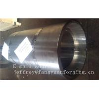 Best 16Mo3 Steel Forged Ring Forged Cylinder Flange Heat Treatment And Machined wholesale