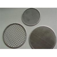 Best Food Grade Stainless Steel Filter Screen 2-635 Mesh Good Sealing Performance wholesale