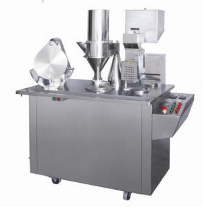 Best Powder / Granules Semi Automatic Capsule Filling Machine For Pharmaceutical Packaging wholesale