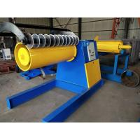 Best 1.5m Coil Hydraulic Decoiler Machine For Steel Strip Slitting Recycling wholesale