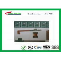 Best Rigid-Flex Quick Turn PCB Prototypes Base on IPC-2223 Guidelines Yellow and Green wholesale