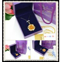 Best Sunflower Pendant As Mother day Gift With Nice Gift Box wholesale