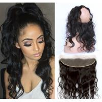 Best 360 Lace Frontal Lace Top Closure Virgin Hair Body Wave Natural Hairline wholesale