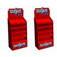 Best Art Paper / Ivory Board Paper 5 Tier Pos Candy Display Stands For Retail Store wholesale