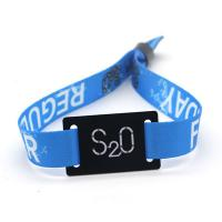 Best Festival Ticket Disposable RFID Chip Wristband Glossy Surface Custom Design wholesale