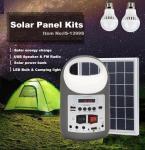 Best Small Solar power Generator Bluetooth Speaker MP3 player Desk Lamp FM radio LED bulb USB charging wholesale