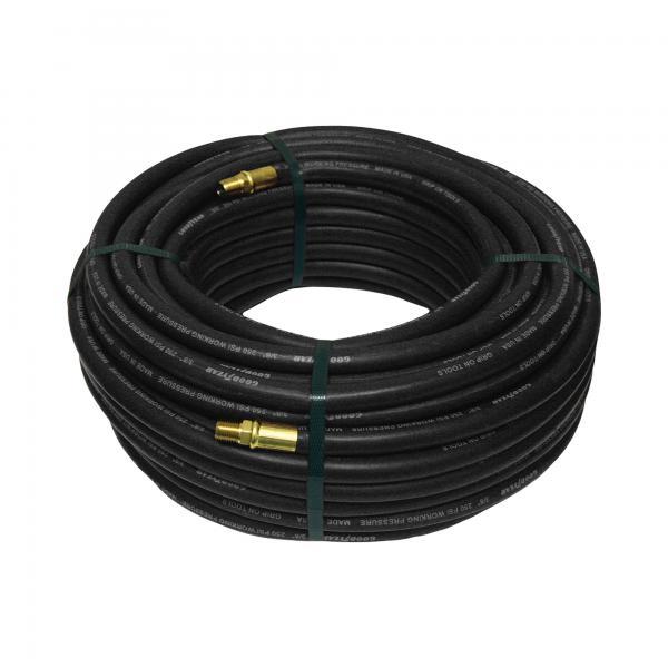 Details of high pressure fiber braided pvc gas hose