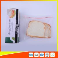 Best OEM Zipper Top Plastic Sandwich Bags Biodegradable For Fresh Keeping wholesale