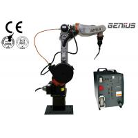 China DOF 6 Axis MIG Welding Robot , Aluminum Welding Robot For Tank Production Line on sale