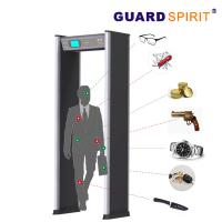 Best 24 Zones Self Diagnostic Metal Walk Through Gate With 21 Application Occasions wholesale