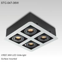 Best Indoor IP40 surface mounted square 36W LED grille light for hotel decoration wholesale
