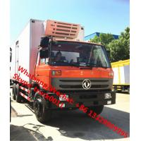 Best durable best price dongfeng 6*4 LHD 210hp 15tons refrigerator truck for sale, Wholesale OEM customized cold room truck wholesale