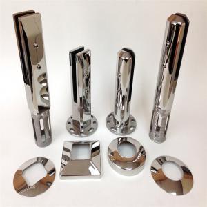 Cheap Frameless Glass Balustrade Spigots / Stainless Steel Spigot Glass Clamp / Stainless Steel Spigots for Sale for sale