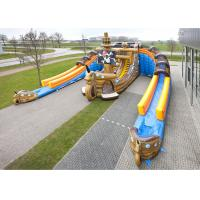 Buy cheap Giant Inflatable Pirate Cove Obstacle Games For Children Entertainment from wholesalers