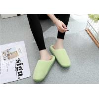Best Comfortable Winter Comfortable House Slippers Warm Suede Fabric Plain Upper wholesale