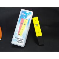 Best China Cheepest waterproof PH temp meter pen type of PH with ATC wholesale
