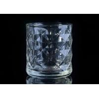 Best Embossed Glass Candle Holder tea light candle holders For Home Decoration wholesale