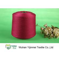 Best Sewing / Knitting Colorful Bright Polyester Yarn With Staple Short Fiber Material wholesale