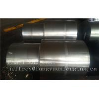 Best 42CrMo4 SCM440 AISI 4140 Alloy Steel Forged Shaft Blanks Quenching And Tempering Rough Machining wholesale